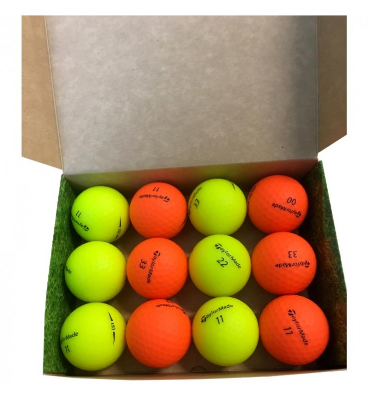 Taylor Made (s) - color fluor (25 bolas de golf)