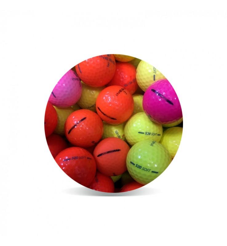 Inesis Tour Color (25 pelotas de golf de colores)