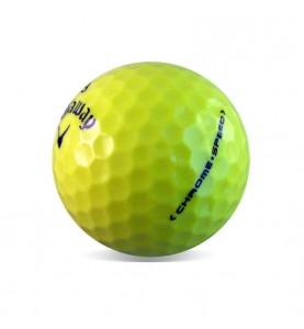 Callaway Chrome Soft (25 bolas de golf amarillas)