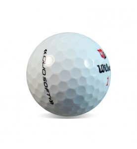 Wilson Staff Duo Soft (25 bolas de golf recuperadas)