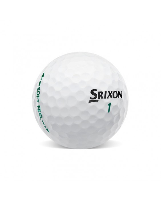 Srixon Soft Feel Grado Perla (25 bolas de golf)