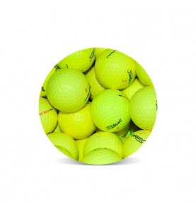 Titleist DT Amarilla Perla (25 bolas de golf)