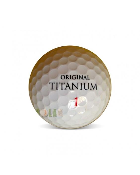 Wilson Original Titanium - Grado Perla (25 bolas de golf)