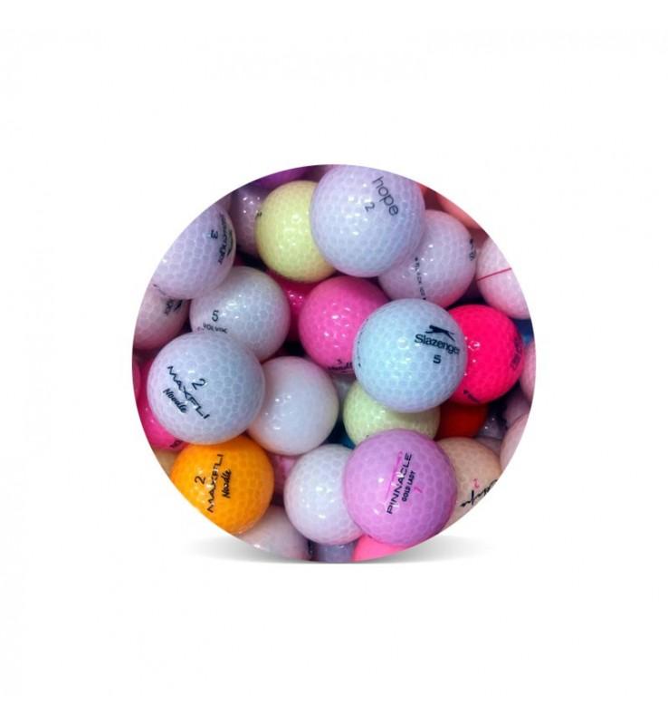 Bolas cristal (25 bolas de golf)