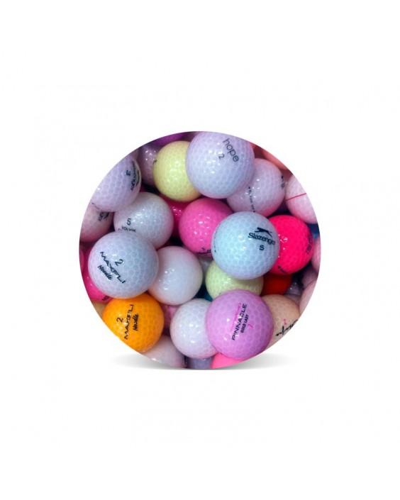 Cristal - Grado Perla (25 bolas de golf)