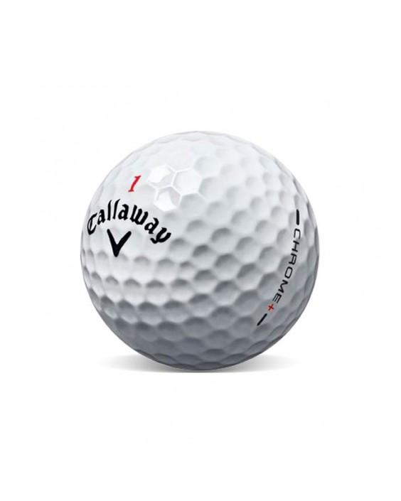Callaway Hex Chrome Grado Perla (25 bolas de golf)