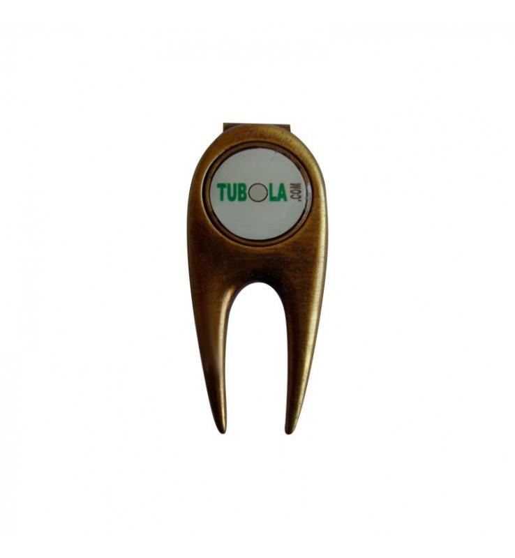 Arreglapiques golf y marcador magnético
