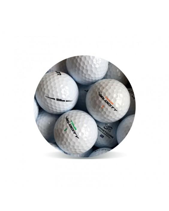 Wilson Mix Grado Perla (25 bolas de golf)