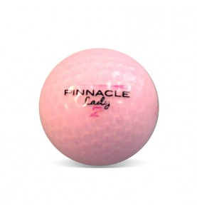 Lady Pinnacle rosa Grado Perla (25 bolas de golf)