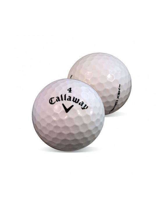 Callaway Hex Control y Hex Pro - Grado Perla (25 bolas de golf)