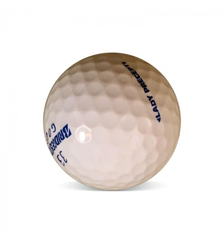 Bolas de golf recuperadas Lady Bridgestone - Grado Perla (25 uds.)