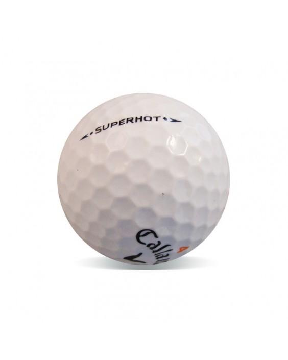 Callaway Superhot y Superhot 55 - Grado Perla (25 bolas de golf)