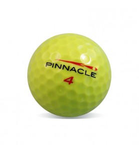 Pinnacle amarilla (25 bolas de golf)