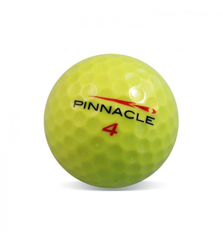 Pinnacle amarilla - Grado Perla (25 bolas de golf)
