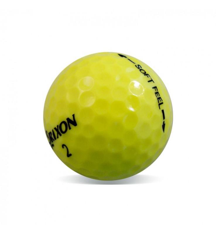 Srixon Soft Feel Amarilla - Grado Perla (25 bolas de golf)