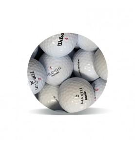 Selección Economy Grado B (25 bolas de golf)