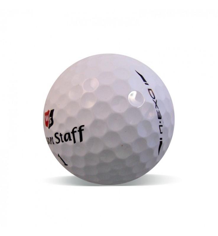 Wilson Staff Dx3 - Grado Perla - (25 bolas de golf)