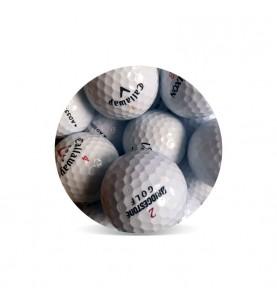 Bolas baratas Premium Grado Perla A (25 bolas de golf)