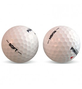 Pinnacle Soft y Rush en Grado Perla (25 bolas de golf)