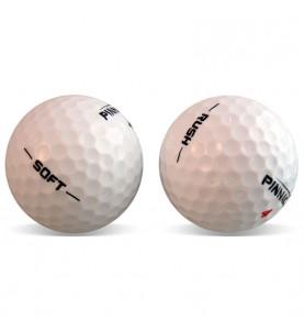 Pinnacle Soft y Rush en Grado Perla (25 bolas de golf)