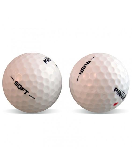 Pinnacle Soft y Rush - Grado Perla (25 bolas de golf)