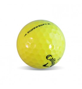 Callaway Supersoft Amarilla - Grado Perla (25 bolas de golf)