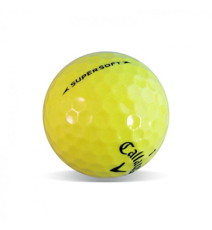Callaway Supersoft Amarilla (25 bolas de golf)
