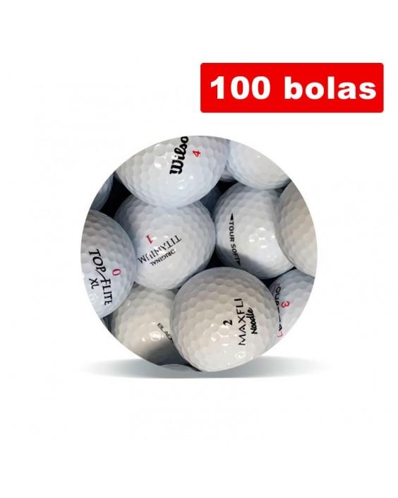 100 bolas de golf Selección Economy