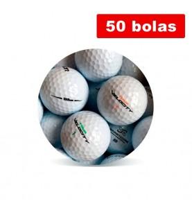 Wilson Mix Grado Perla A (50 bolas de golf)