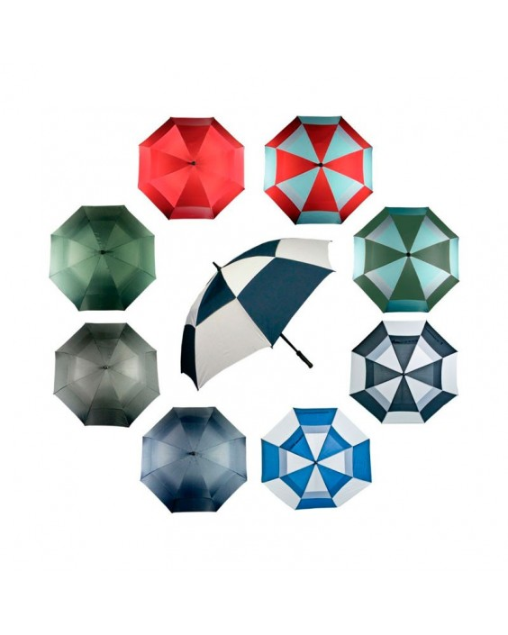 Paraguas golf doble capa (5 ud.)