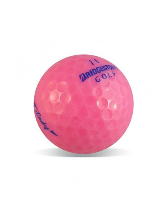 Lady Bridgestone rosa - Grado Perla (25 bolas de golf)