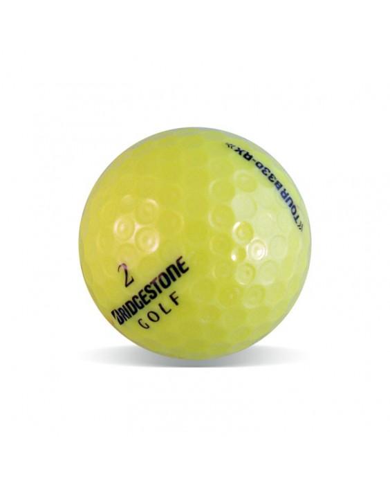 Bridgestone B330 Tour Amarilla - Grado Perla (25 bolas de golf)