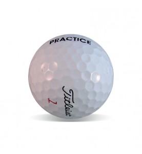 Titleist Prov1 y ProV1x Practice Grado Perla (25 bolas)