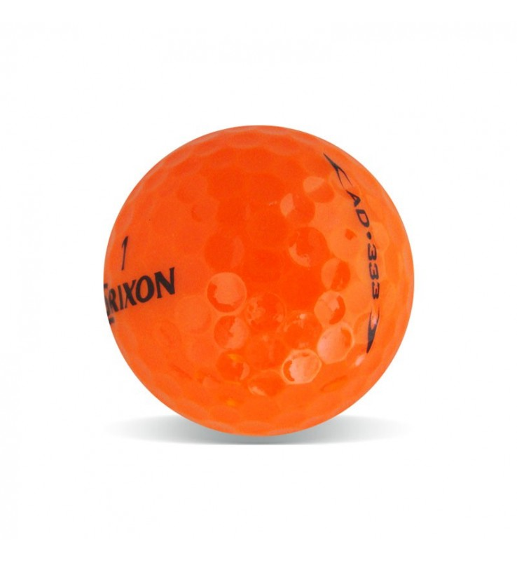 Srixon AD333 Naranja - Grado Perla (25 bolas de golf)