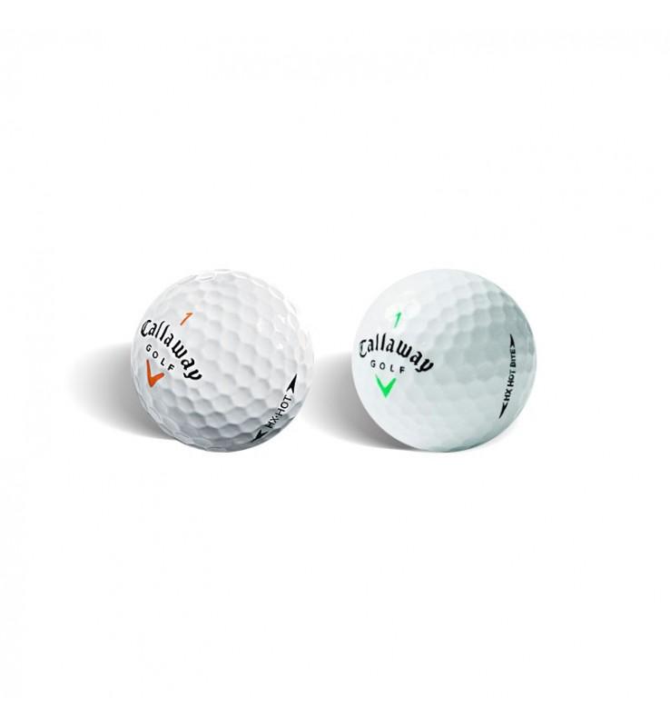 Callaway HX Hot y HX Bite (25 bolas de golf)