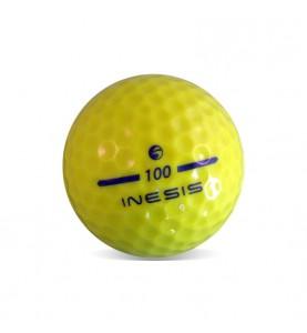 Inesis amarillas - Grado Perla (25 bolas de golf)