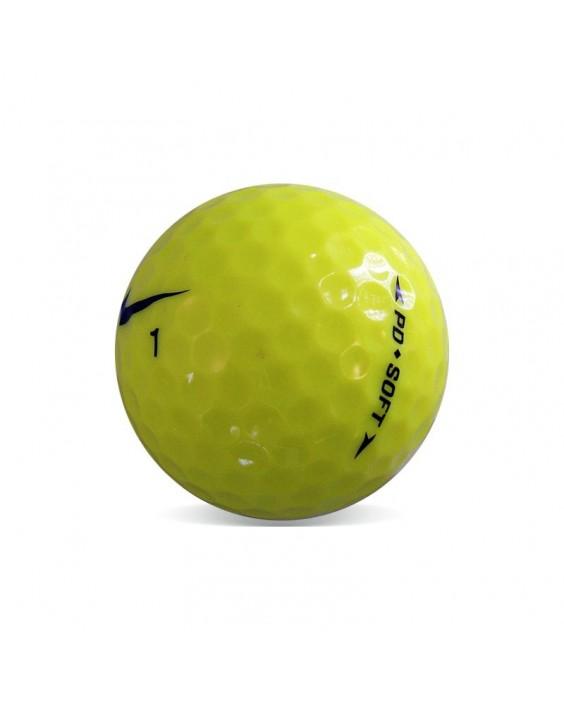 Nike PD Soft Amarilla - Grado Perla (25 bolas de golf)
