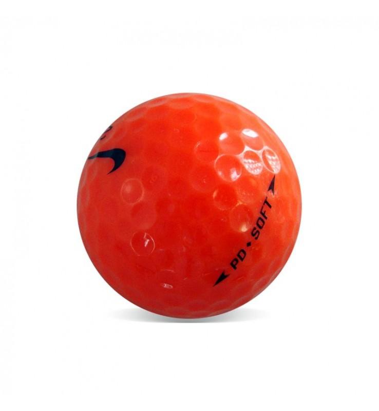 Nike PD Soft Naranja - Grado Perla (25 bolas de golf)