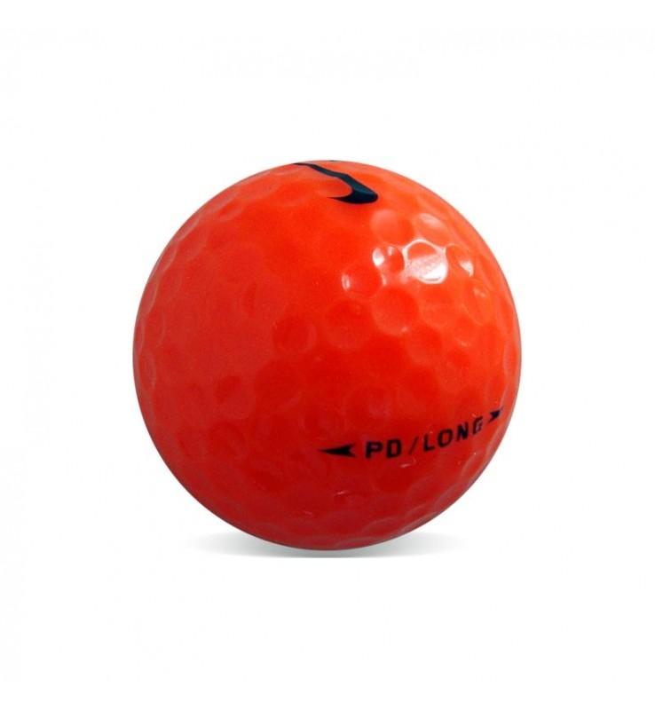 Nike PD Long Naranja - Grado Perla (25 bolas de golf)