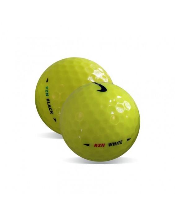 Nike RZN Amarilla - Grado Perla (25 bolas de golf)