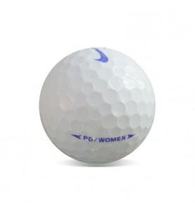 Nike PD Women Blanca - Grado Perla (25 bolas de golf)