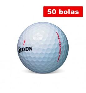 Srixon Distance - Grado Perla y A (50 bolas de golf recuperadas)