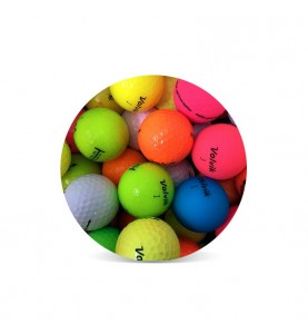 Pelotas de golf Volvik de colores (25 bolas)