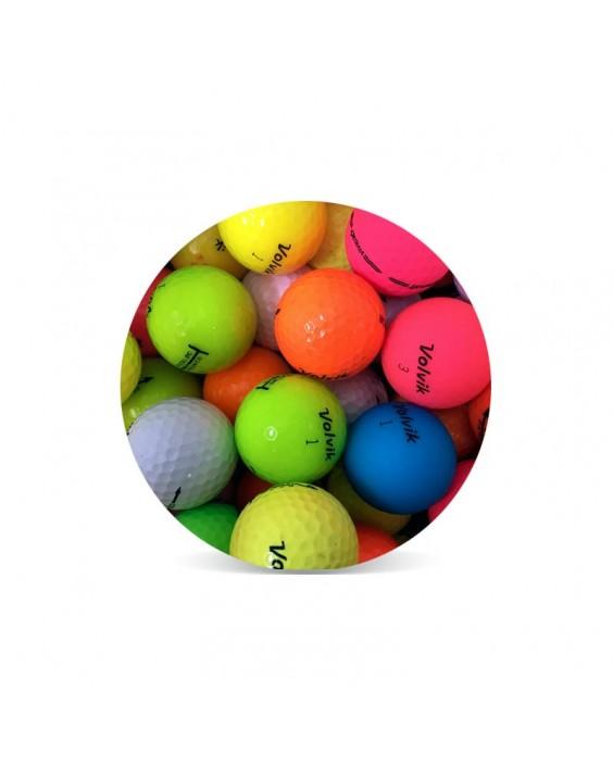 Pelotas de golf Volvik - Grado Perla (25 bolas)