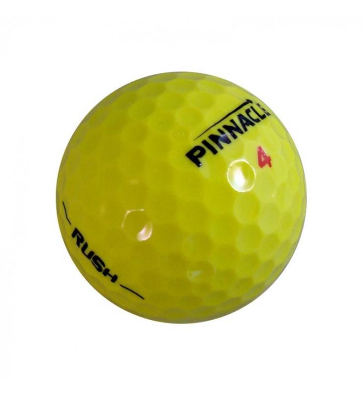 Pinnacle Rush amarilla - Grado Perla (25 bolas de golf)