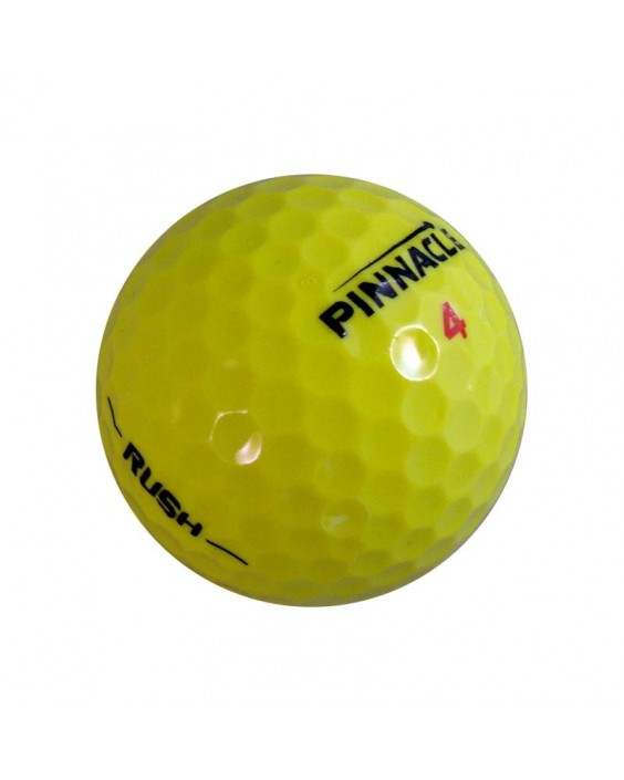 Pinnacle Rush amarilla - Grado Perla (25 bolas de golf)