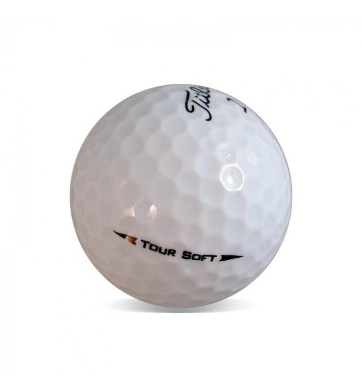 Titleist Tour Soft - Grado Perla (25 bolas de golf)