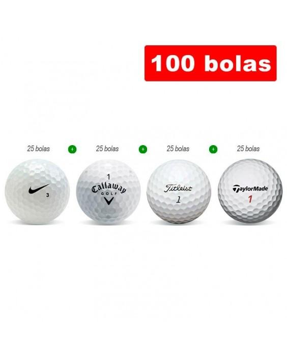 100 bolas de golf en Grado B