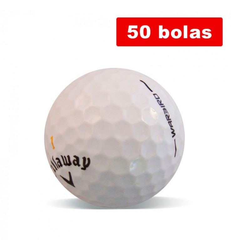 Callaway Warbird Grados A y B (50 bolas de golf)