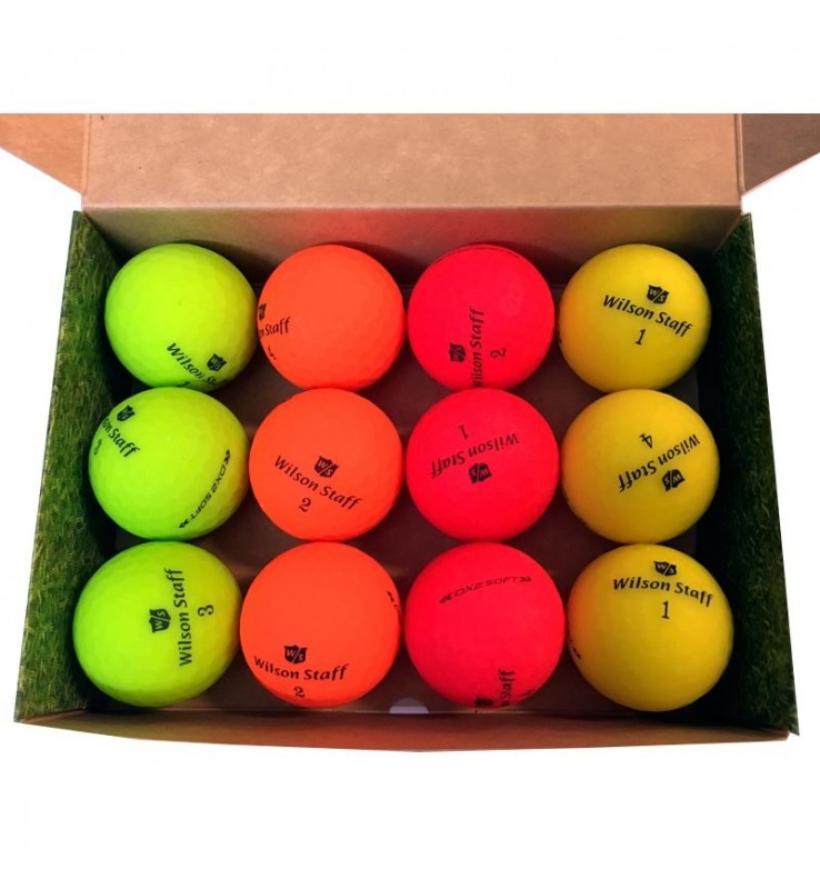 Wilson Staff Soft Optix Color - (12 bolas de golf)